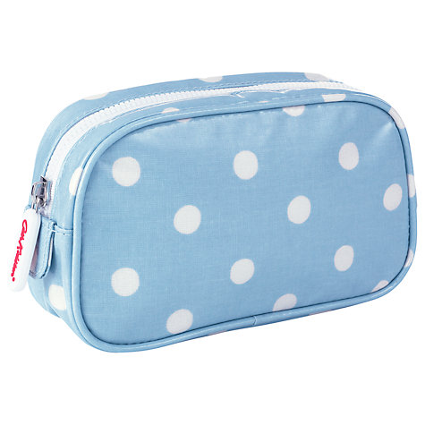 Buy Cath Kidston Spot Make-Up Case, Blue Online at johnlewis.com