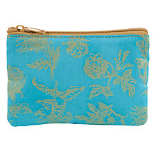 Buy John Lewis Small Flat Purse, Turquiose Online at johnlewis.com