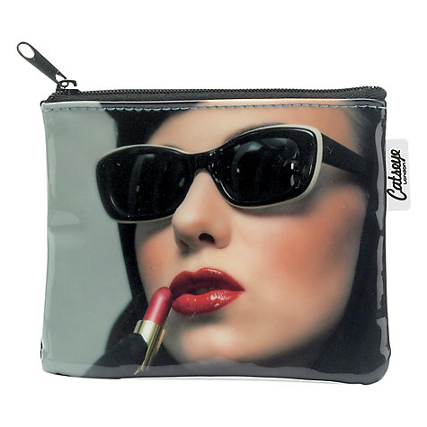 Buy Catseye Lipstick Woman PVC Zip Purse Online at johnlewis.com