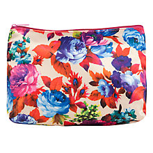 Buy John Lewis Traditional Wash Bag, Floral Online at johnlewis.com