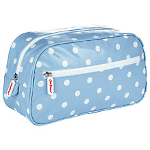 Buy Cath Kidston Spot Large Make-Up Bag, Blue Online at johnlewis.com