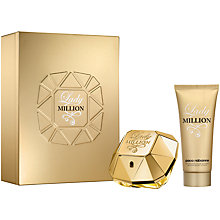 Buy Paco Rabanne Lady Million Eau de Parfum Fragrance Set, 50ml Online at johnlewis.com