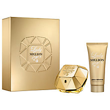 Buy Paco Rabanne Lady Million Eau de Parfum Fragrance Set, 80ml Online at johnlewis.com
