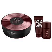 Buy Carolina Herrera 212 Sexy Men  Eau de Toilette Fragrance Set, 50ml Online at johnlewis.com