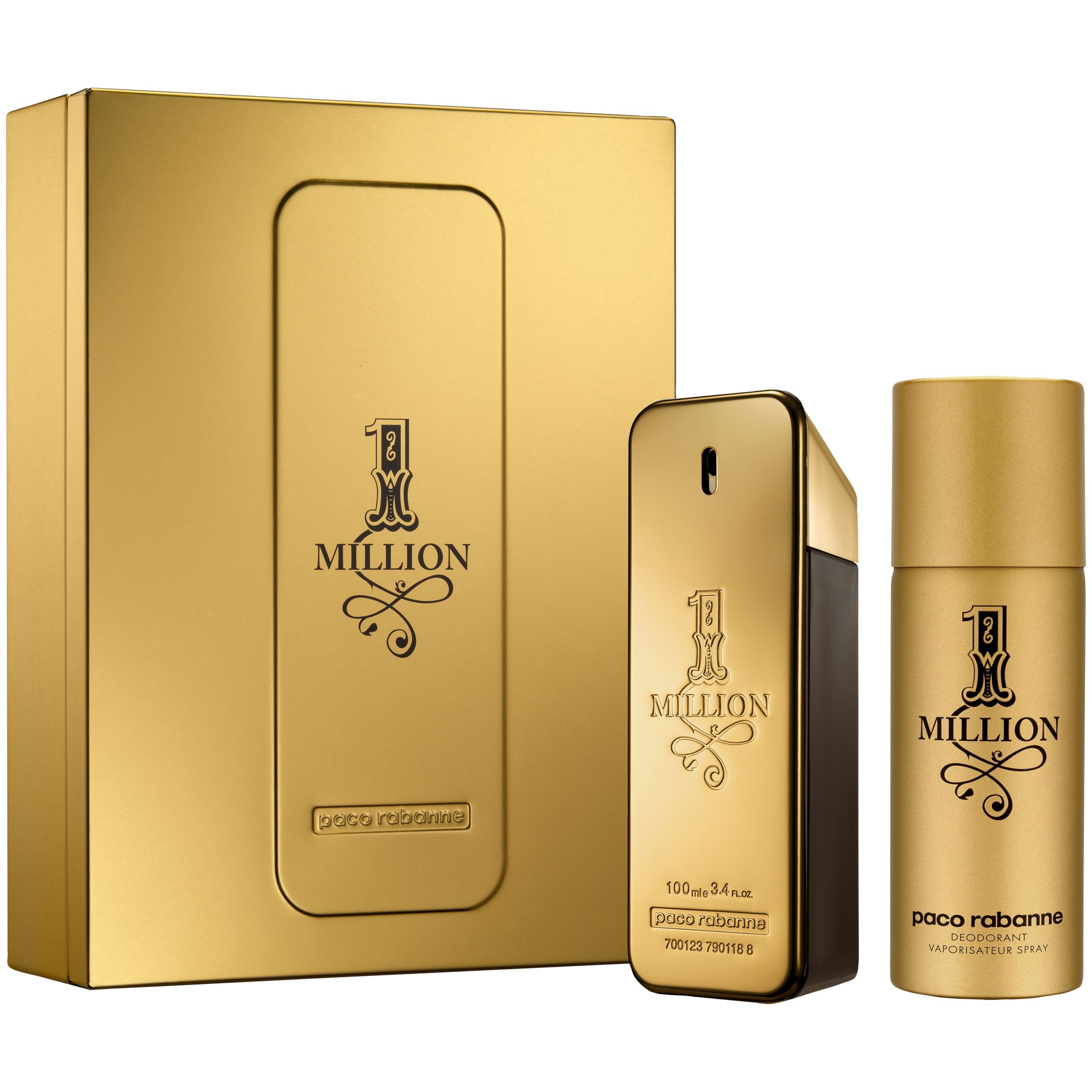 Paco Rabanne 1 Million Eau de Toilette Fragrance Set 100ml