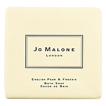 Buy Jo Malone™ English Pear & Freesia Bath Soap, 100g Online at johnlewis.com