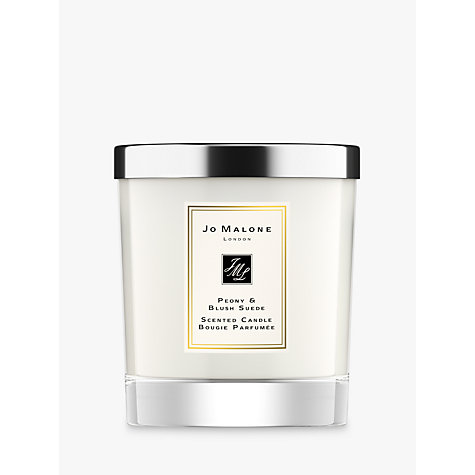 Buy Jo Malone™ Peony & Blush Suede Home Candle, 200g Online at johnlewis.com