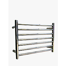 Buy John Lewis Holkham Central Heated Towel Rail and Valves, from the Wall Online at johnlewis.com