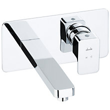 Buy Abode Fervour Wall Mounted Basin Mixer Tap Online at johnlewis.com