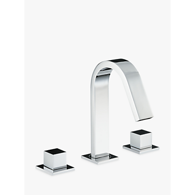 Abode Zeal Deck Mounted 3TH Bath Mixer Tap