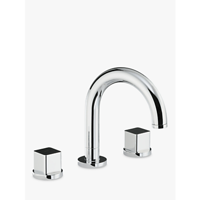 Abode Fervour Thermostatic Deck Mounted 3 Hole Bath Filler Tap