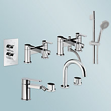 Buy Abode Debut  Bathroom Taps Range  Online at johnlewis.com
