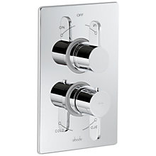 Buy Abode Bliss Concealed Thermostatic Shower Valve, 2 Exit Online at johnlewis.com