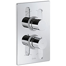 Buy Abode Bliss Concealed Thermostatic Shower Valve, 1 Exit Online at johnlewis.com