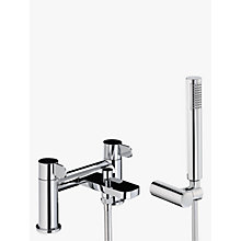 Buy Abode Bliss Deck Mounted Bath/Shower Mixer with Handset Online at johnlewis.com