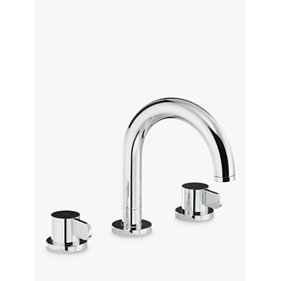 Abode Bliss Thermostatic Deck Mounted 3 Hole Bath Mixer Tap