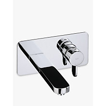 Buy Abode Bliss Wall Mounted Basin Mixer Tap Online at johnlewis.com
