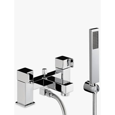 Abode Rapport Deck Mounted Bath/Shower Mixer with Shower Handset