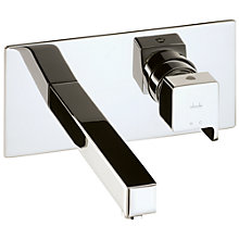 Buy Abode Rapport Wall Mounted Basin Mixer Tap Online at johnlewis.com