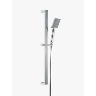 Abode Euphoria Sliding Rail Shower Kit 5 - 700mm Square with Single Function Showerhead