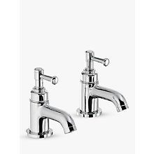 Buy Abode Gallant Basin Pillar Taps, Set of 2 Online at johnlewis.com