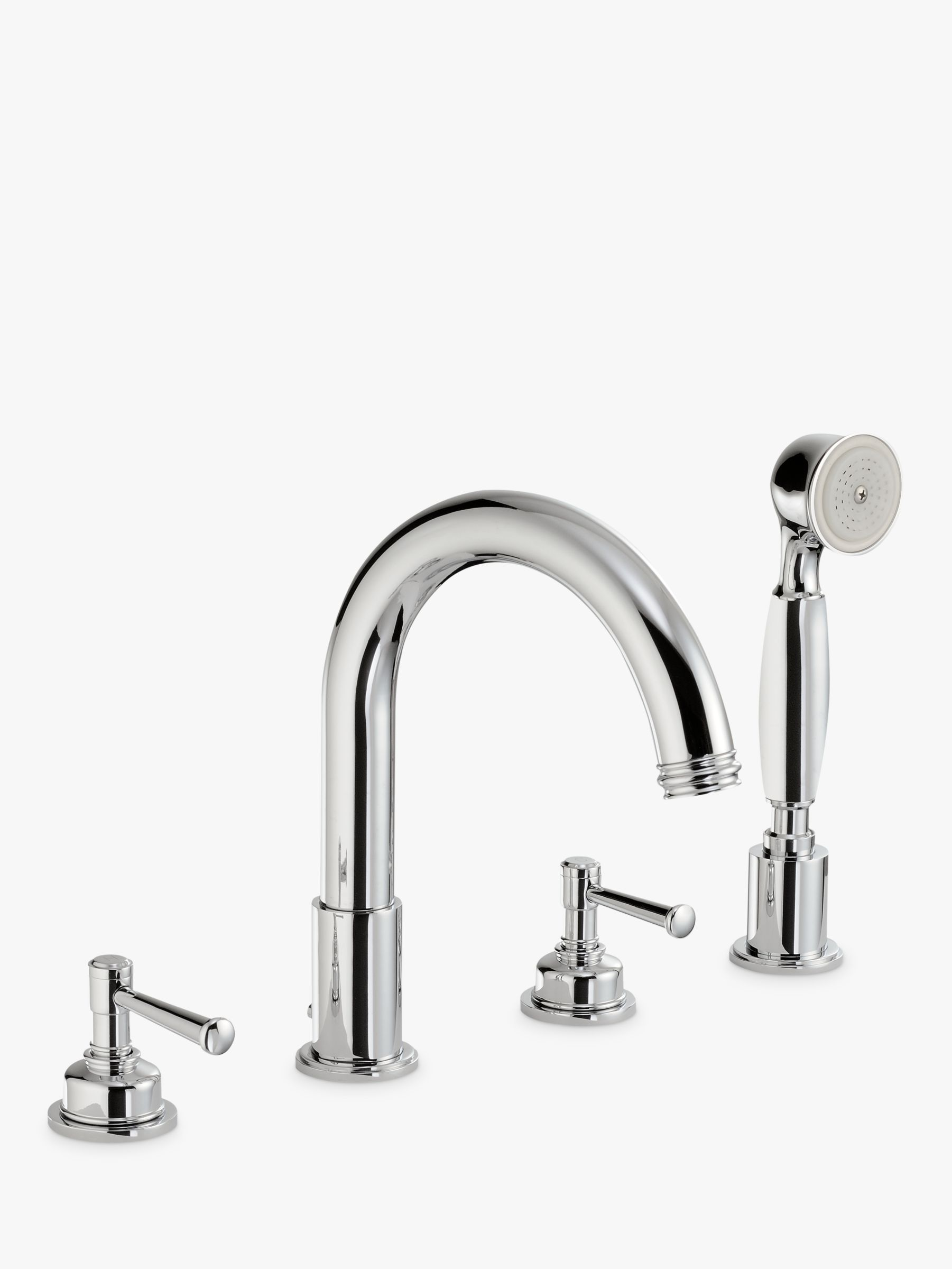 Abode Abode Gallant Deck Mounted 4 Hole Bath/Shower Mixer Tap