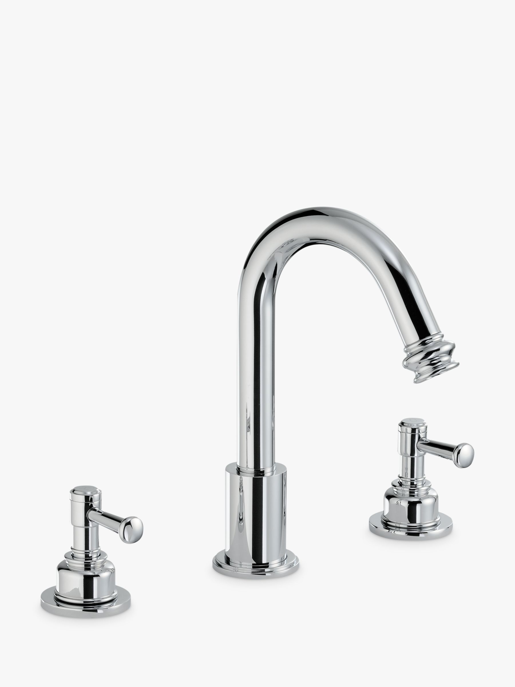 Abode Abode Gallant Deck Mounted 3TH Basin Mixer Tap