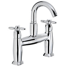 Buy Abode Opulence Deck Mounted Bath Filler Tap Online at johnlewis.com