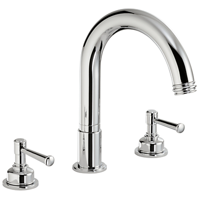 Abode Gallant Deck Mounted 3TH Bath Mixer Tap