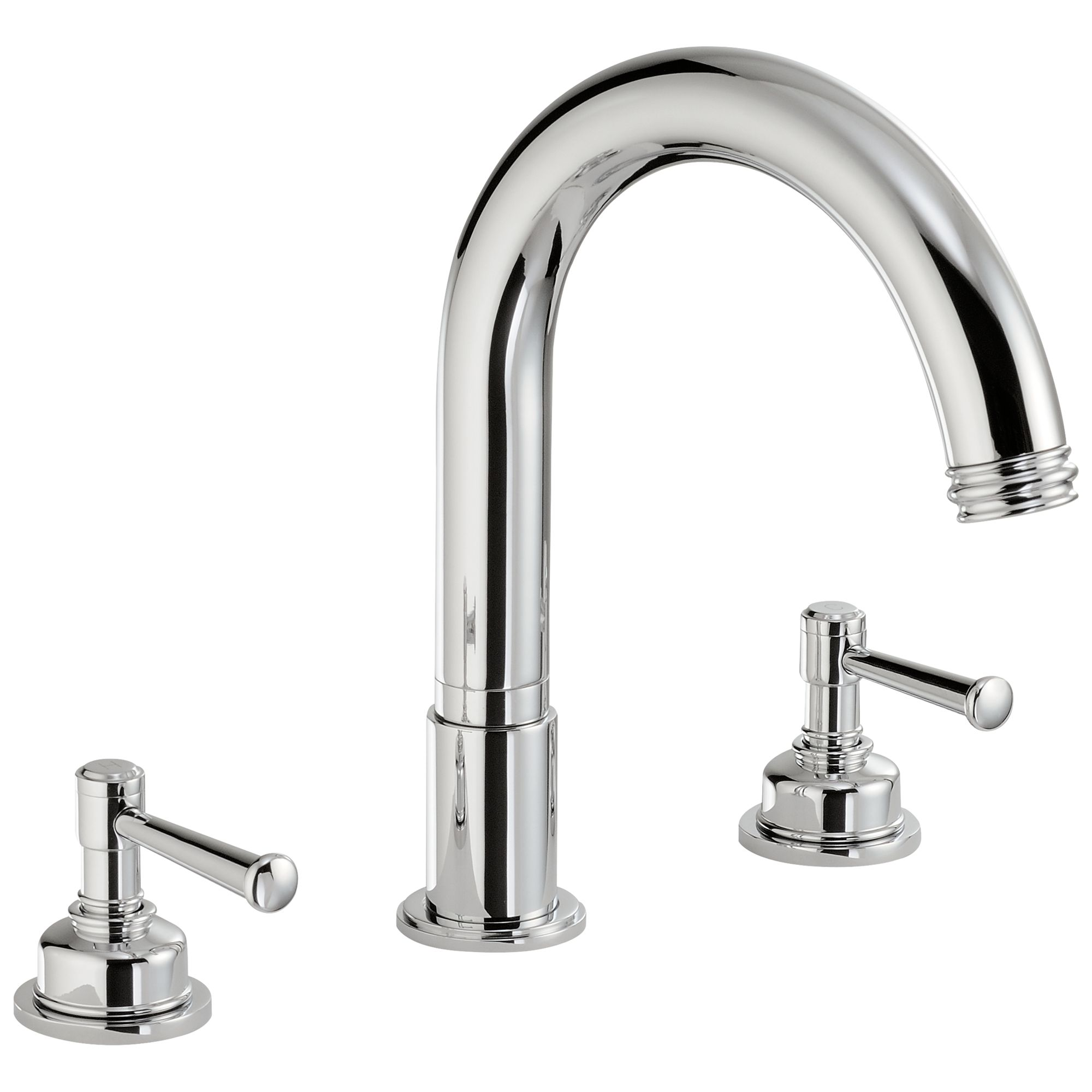Abode Abode Gallant Deck Mounted 3TH Bath Mixer Tap
