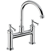 Buy Abode Gallant Deck Mounted Bath Filler Tap Online at johnlewis.com