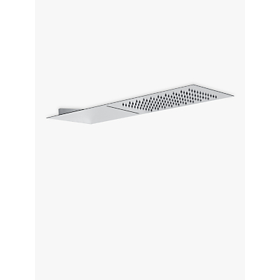 Abode Storm Slimline 3mm Wall Mounted Waterfall Shower Head