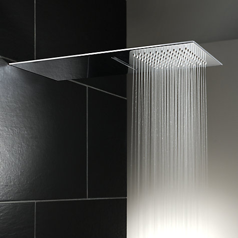 Buy Abode Storm Slimline 3mm Wall Mounted Waterfall Shower