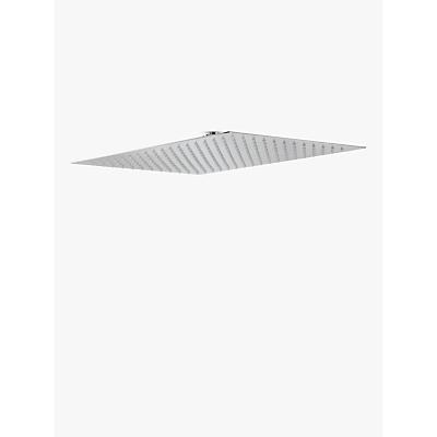 Abode Storm Rectangular Showerhead, 45 x 30cm