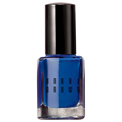 Buy Bobbi Brown Nail Polish, NEW Navy, 11ml Online at johnlewis.com