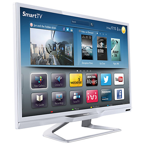 "Buy Philips 24PFL4228 LED HD 720p Smart TV, 24"" with Freeview HD Online at johnlewis.com"