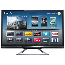 "Buy Philips 24PFL4208 LED HD Ready Smart TV, 24"" with Freeview HD Online at johnlewis.com"