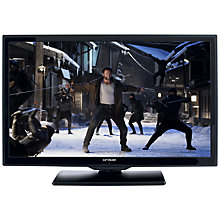 "Buy Linsar 24LED1000S LED HD 720p Smart TV/DVD Combi, 24"" with Freeview HD, Black Online at johnlewis.com"