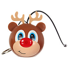 Buy KitSound Mini Buddy Reindeer Speaker, Brown Online at johnlewis.com