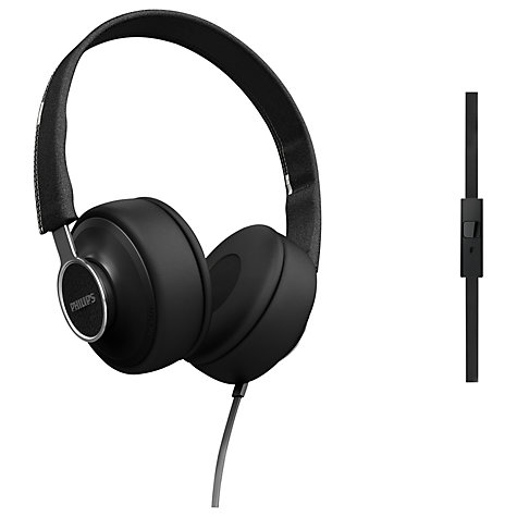 Buy Philips SHL5605 Downtown CitiScape On-Ear Headphones with Mic/Remote Online at johnlewis.com