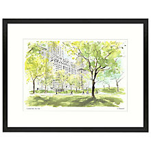 Buy Ulyana Hammond - Central Park 1 Framed Print, 42 x 54cm Online at johnlewis.com