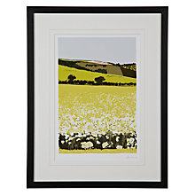 Buy James Lord - Oil Seed Field Framed Print, 56 x 43cm Online at johnlewis.com