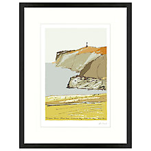 Buy James Lord - Freshwater Bay Framed Print, 56 x 43cm Online at johnlewis.com