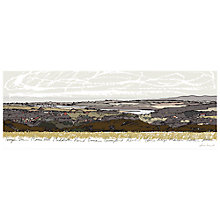 Buy James Lord - Rural Vista Print on Canvas, 40 x 110cm Online at johnlewis.com