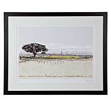 Buy James Lord - Newtown Meadow Framed Print, 63 x 79cm Online at johnlewis.com