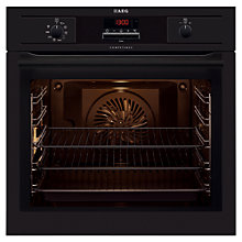 Buy AEG BE5304001B Single Electric Oven, Black Online at johnlewis.com