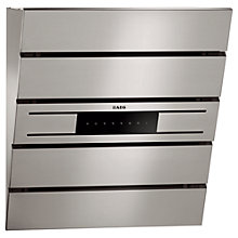 Buy AEG X66453MV0 Chimney Cooker Hood, Stainless Steel Online at johnlewis.com