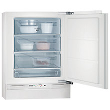 Buy AEG AGS58200F0 Integrated Freezer, A+ Energy Rating, 60cm Wide Online at johnlewis.com