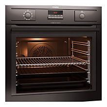 Buy AEG BP5304001B Single Electric Oven, Black Online at johnlewis.com