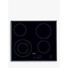 Buy AEG HK624010FB Ceramic Hob, Black Online at johnlewis.com